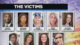 Revelan identidad de los fallecidos en accidente donde Kobe Bryant murió