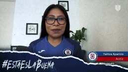 Yalitza Aparicio manda un mensaje especial al Cruz Azul