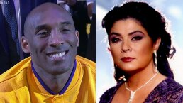 Revelan que Kobe Bryant aprendió a hablar español gracias a Victoria Ruffo