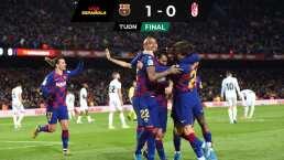 Setién debuta con el Barcelona derrotando por la mínima al Granada