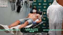Compañero de Guardado y Lainez del Betis revela positivo en coronavirus