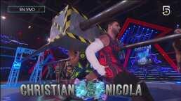 A pesar de su lesión, Nicola le gana a Christian en Fuerzas Opuestas