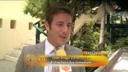 Juan Diego Covarrubias estrena romance