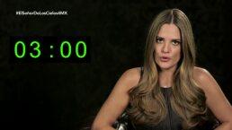 ¡El reto de los 3 segundos pone nerviosa a Sabrina Seara!