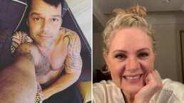 Erika Buenfil se 'avienta' palomazo junto a Ricky Martin y fascina a sus fans