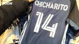 LA Galaxy ya puso a la venta la playera que usará 'Chicharito' Hernández