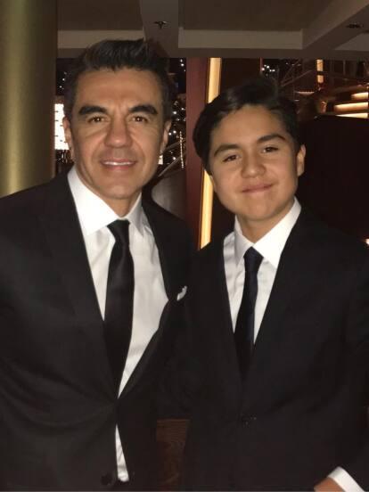 Gael, hijo de Adrián Uribe, impresiona por lo grande que luce en redes sociales, donde incluso ya presume el tórrido romance que tiene con una youtuber