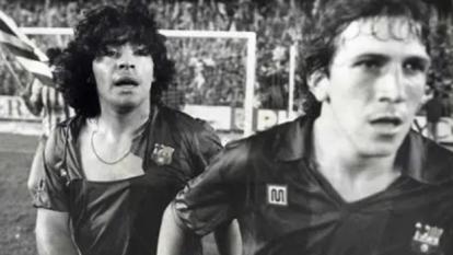 Los jugadores del Barcelona y Athletic Club se agarraron a golpes en la final de la Copa 1983-84, en el Santiago Bernabéu, ante los ojos del Rey Juan Carlos; Maradona protagonizó aquella campal.