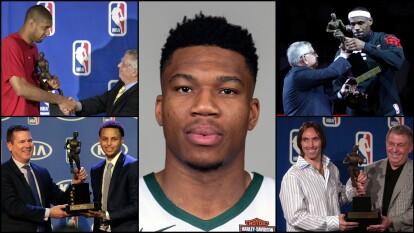 Estos son los MVP de la NBA de los últimos 20 años .