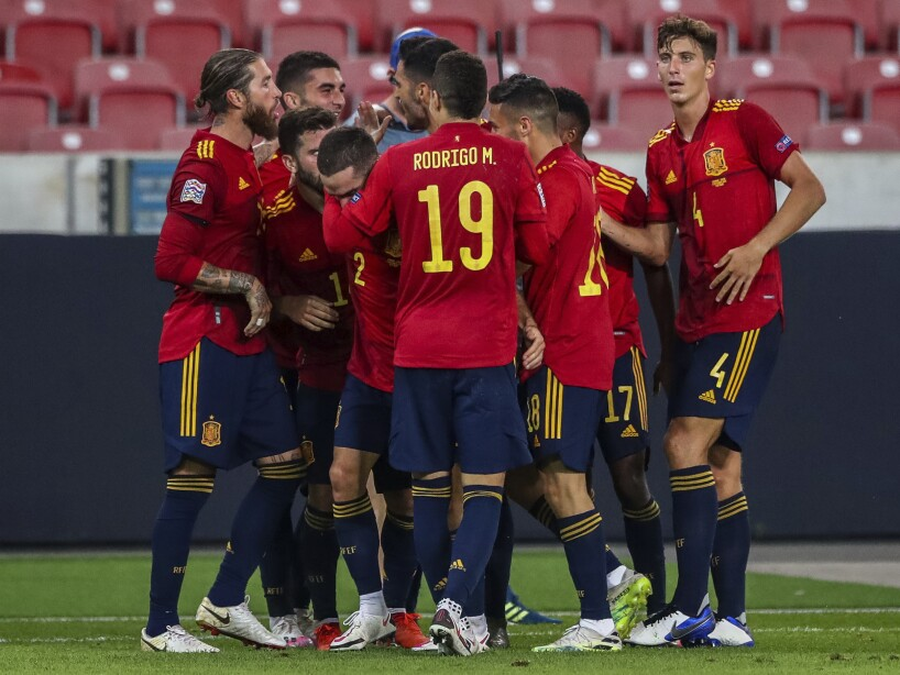 Germany Spain Soccer Nations League