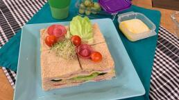 Lunch para el regreso a clases 4: Sándwich cake