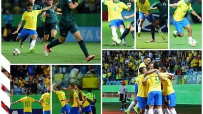 Brasil 2-0 Italia. Con goles de Patryck y João Peglow, la verdeamarela vence 2-0 a Italia y avanza a semifinales.