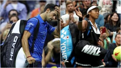 Los campeones defensores del US Open en rama varonil y femenil quedan sin posibilidad de refrendar el título obtenido en 2018.