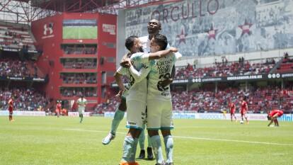 Partido correspondiente a la Jornada 1 del Apertura 2019 en el que el Querétaro se impuso 0-2 al Toluca en el Nemesio Diez.