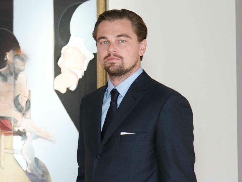 4. Leonardo DiCaprio: Según confesó, el actor dijo que se baña dos veces por semana y no usa desodorante.