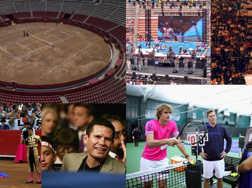 Desde eventos deportivos hasta eventos políticos, pasando por musicales y deportes extremos.