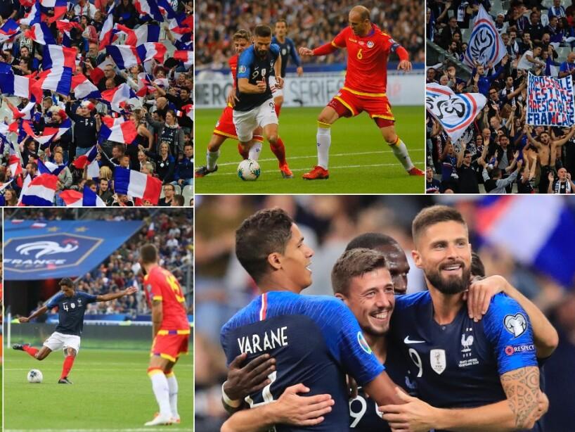 Francia vs Andorra, eliminatoria Eurocopa 2020