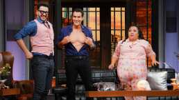 David Zepeda sorprende a Faisy y Michelle con su habilidad para mover los pectorales