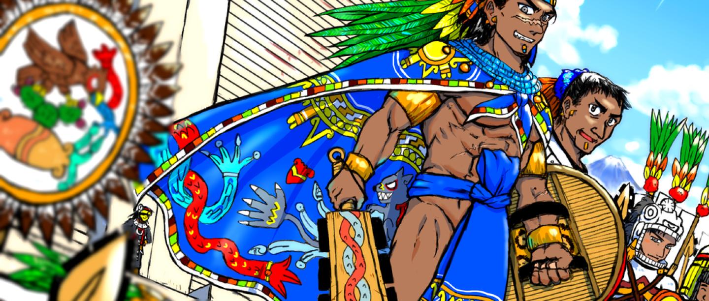 El Imperio Azteca retratado al estilo manga