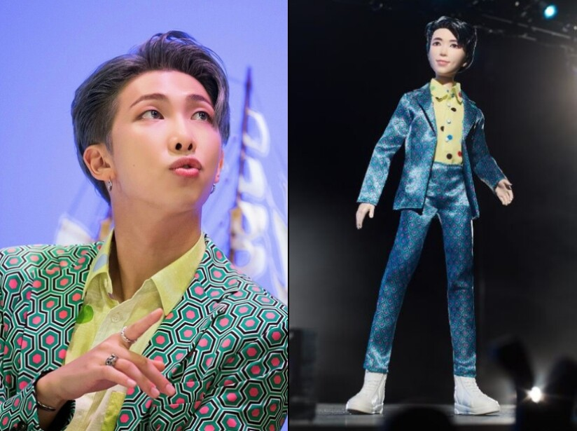 Así se ven los muñecos de Mattel de BTS