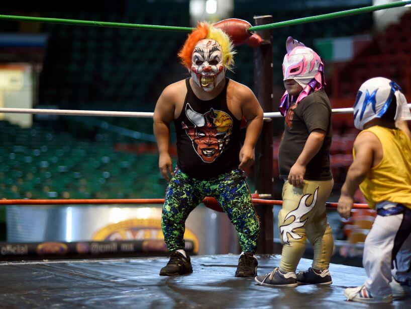 MEXICO-WRESTLING-DWARVES