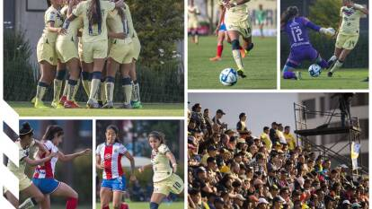 Las Águilas dejan en el camino a las Chivas y jugarán en la antesala de la final de la Liga MX Femenil.