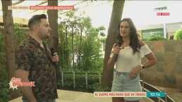 Ximena Cervantes saca su lado grupero y confiesa que es fan de Christian Nodal