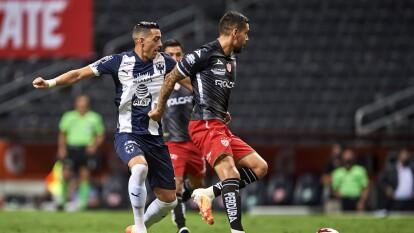 Necaxa le 'sacó' un punto a los Rayados en Monterrey | Monterrey dejó ir los tres puntos que Dorlan Pabón conseguía con un tremendo gol en la Liga BBVA MX.