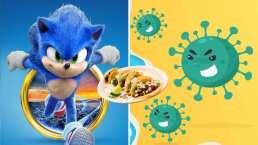 """Así vence """"Sonic"""" al Coronavirus en video viral de taquería"""
