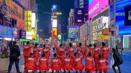 Banda Renovación sorprende al tocar en las calles de Nueva York