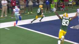 ¡Qué partido de Aaron Jones! tercer TD de Packers