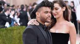 The Weeknd y Bella Hadid, juntos en la radio