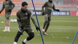 Suárez está disponible para el Atlético tras coronavirus