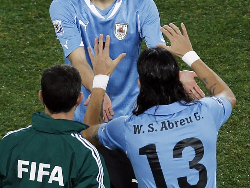 South Africa Soccer WCup Uruguay Ghana