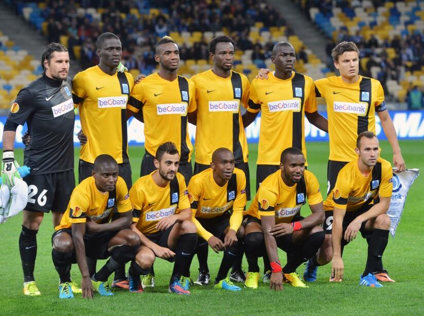 FC Dynamo Kyiv v KRC Genk - UEFA Europa League