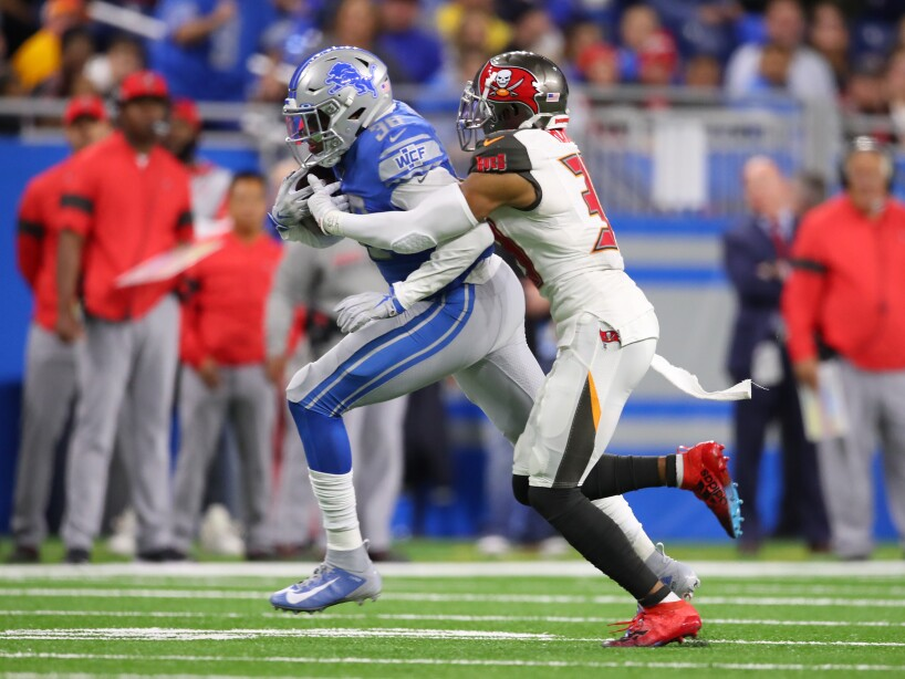 Tampa Bay Buccaneers vDetroit Lions
