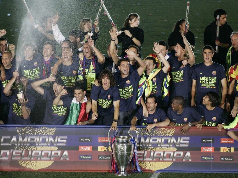 SPAIN SOCCER CHAMPIONS LEAGUE