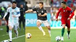 Futbolistas activos con más goles en su selección