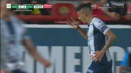 ¡La manda al fondo! Mauro Quiroga iguala las tablas 2-2 sobre Necaxa