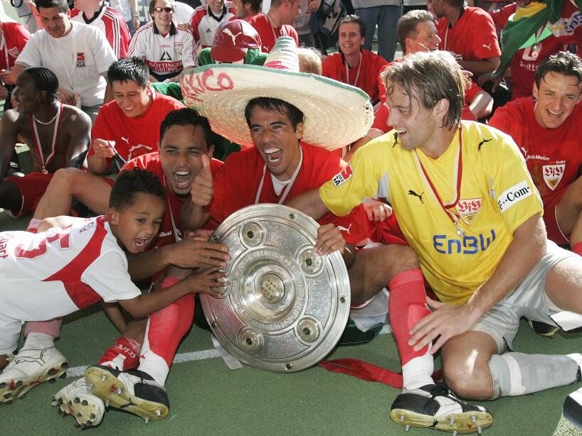 Ricardo Osorio, Pavel Pardo, Timo Hildebrand