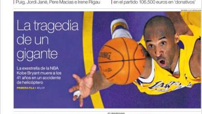Kobe Bryant paraliza al mundo con su muerte y se convierte en tendencia a nivel internacional.
