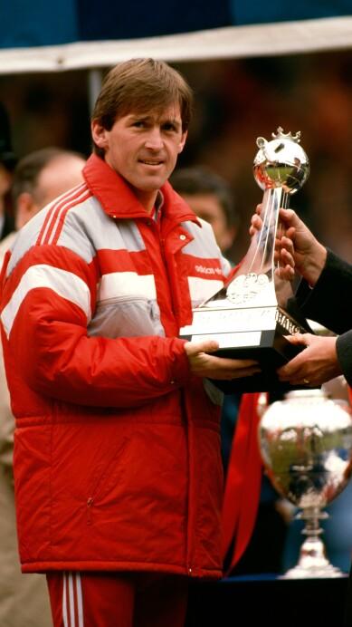 Kenny Dalglish Liverpool Manager May 2nd 1988