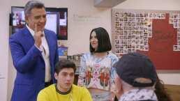 Así fue como Héctor Sandarti y Wendy González regresaron a 'El Dicho' como el hijo y la nieta de 'Don Tomás'