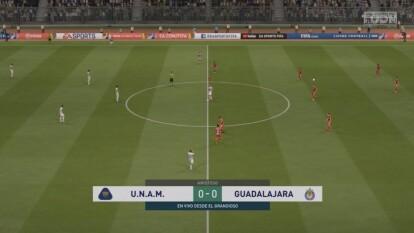 Los Pumas de Alejandro Zamudio vivieron una pesadilla en su debut luego de ser goleados 1-8 por las Chivas en Ciudad Universitaria.