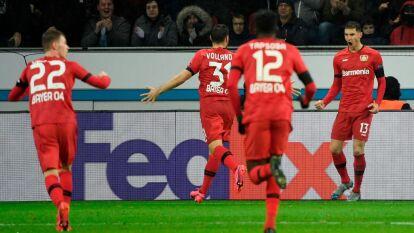 Alemania pesa y el Bayer Leverkusen se impone 2-1 al Porto en casa.