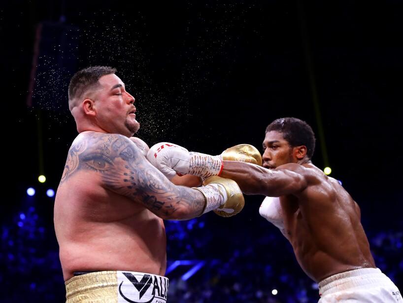 Andy Ruiz respondió, pero Joshua manejó mejor el ring.
