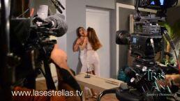 ¡Video exclusivo! Detrás de cámaras de la muerte de Claudia