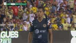 Giovani se estrenó con América cobrando de zurda el gol de la victoria