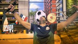 ¿Cómo festeja el equipo de Hoy un gol de México?