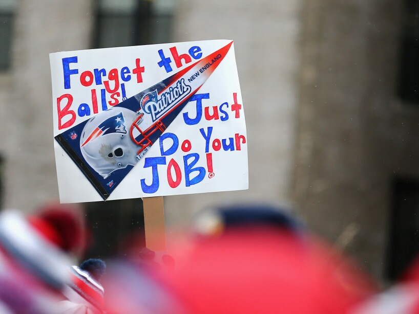 New England Patriots Send-Off Rally